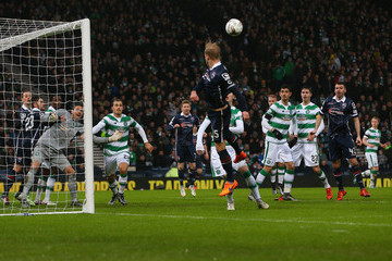 Andrew Davies Ross County v Celtic - Scottish League Cup Semi Final