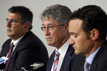 Andrew Demetriou Mike Fitzpatrick Adelaide Crows AFL Commission Hearing