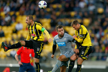 Andrew Durante Ben Sigmund Wellington Phoenix v Newcastle United - Football United New Zealand Tour 2014