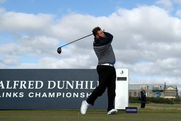 Andrew Johnson Alfred Dunhill Links Championship - Day One