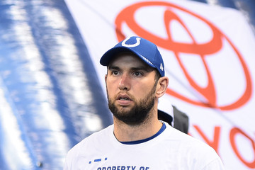 Andrew Luck San Francisco 49ers v Indianapolis Colts