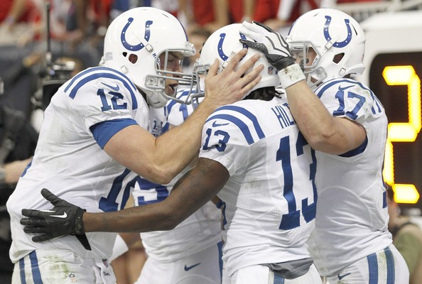 Ty hilton and andrew luck t y hilton and andrew luck