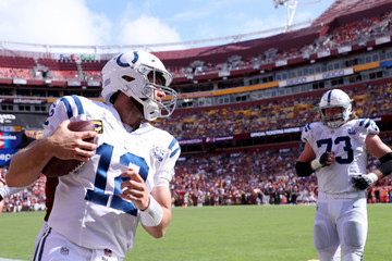 Andrew Luck Indianapolis Colts vs. Washington Redskins
