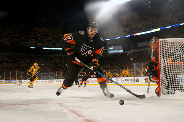 Andrew MacDonald 2017 Coors Light NHL Stadium Series - Philadelphia Flyers v Pittsburgh Penguins