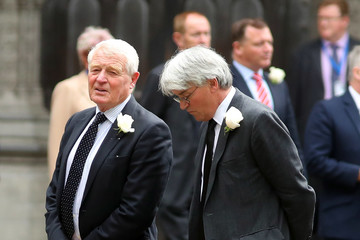 Andrew Mitchell MPs Attend Service For Jo Cox