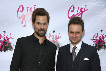 Andrew Rannells 'Gigi' Broadway Opening Night - Arrivals And Curtain Call