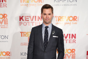 Andrew Rannells The Trevor Project's TrevorLIVE New York - Arrivals