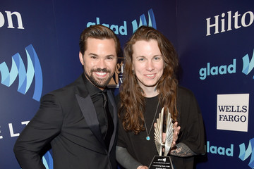 Andrew Rannells Backstage - 26th Annual GLAAD Media Awards