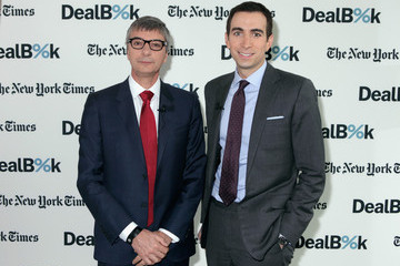 Andrew Ross Sorkin Jean Yves Fillion The New York Times DealBook Conference