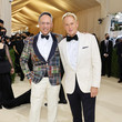 Andrew Saffir The 2021 Met Gala Celebrating In America: A Lexicon Of Fashion - Arrivals