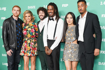 "Andrew Santino Taylor Misiak Premiere Of FXX's ""Dave"" - Arrivals"