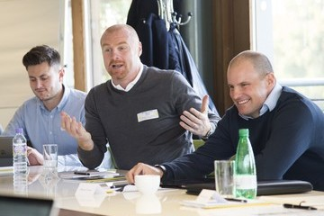 Andrew Strauss Leaders P8 Summit