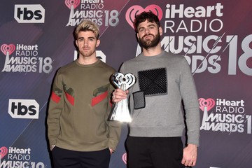 Andrew Taggart 2018 iHeartRadio Music Awards - Press Room