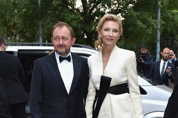 Andrew Upton Giorgio Armani 40th Anniversary - Silos Opening And Cocktail Reception - Arrivals
