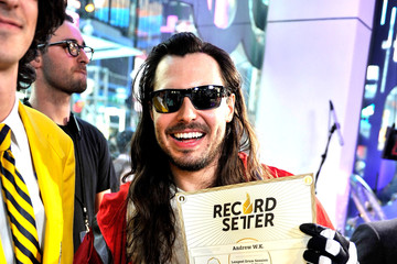 Andrew W.K Musicians Perform at the O Music Awards