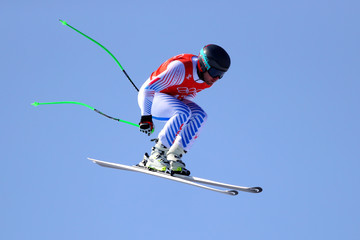 Andrew Weibrecht Alpine Skiing - Winter Olympics Day -1