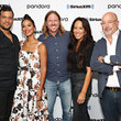 Andrew Zimmern Hoda Kotb Hosts A TODAY Show Radio Event With Magnolia's Chip And Joanna Gaines At SiriusXM's New York City Fishbowl Studio