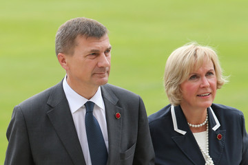 Andrus Ansip Reception At Buckingham Palace For Heads Of State And Government Attending The Opening Ceremony Of The Olympics