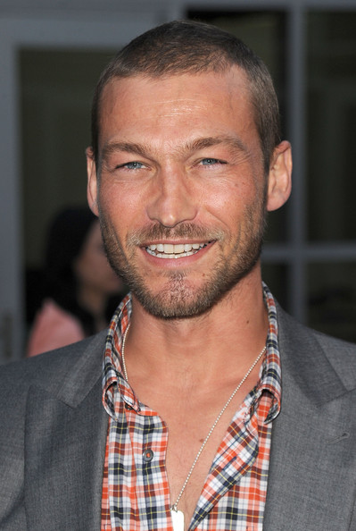 Andy Whitfield Actor Andy Whitfield arrives at the premiere of    Andy Whitfield
