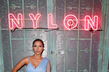 Andy Allo NYLON Young Hollywood Party At AVENUE Los Angeles