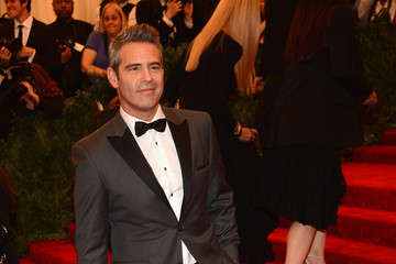 Andy Cohen Red Carpet Arrivals at the Met Gala