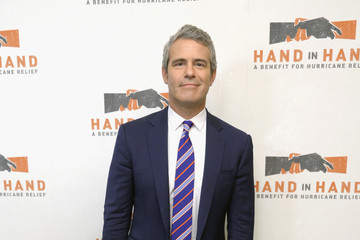 Andy Cohen Hand in Hand: A Benefit for Hurricane Relief - New York - Press Room