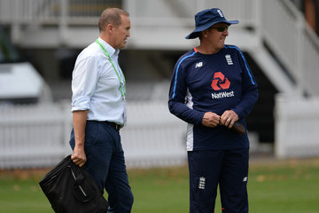 Andy Flower England Net Session