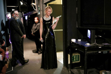 Andy Garcia 18th Costume Designers Guild Awards - Backstage and Green Room