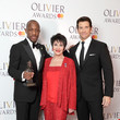 Andy Karl The Olivier Awards With Mastercard - Press Room