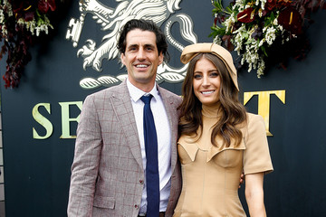 Andy Lee Celebrities Attend Melbourne Cup Day