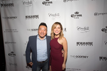 Andy Li Michigan Avenue Magazine's Late Spring Issue Release Celebration With Sophia Bush At The Godfrey Hotel Chicago