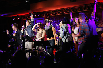 Andy Mientus Molly Hager Performances at 'Hit List' in NYC