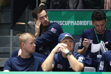 Andy Murray 2019 Davis Cup - Day Six