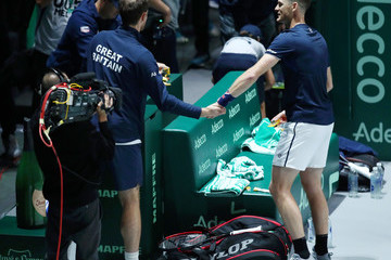 Andy Murray Jamie Murray Great Britain Compete For 2019 Davis Cup