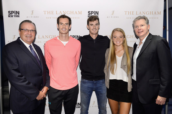 The Langham, New York, Fifth Avenue Celebrates U.S. Open Tennis With Andy Murray And SPiN Studios