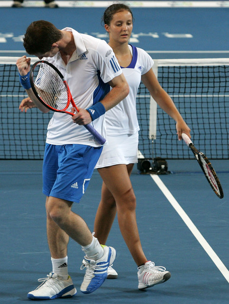 Andy Murray and Laura Robson Photos Photos - 2010 Hopman ...