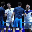 Tim Henman and Mansour Bahrami