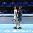 Roger Federer and Andy Murray Photos