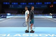 Roger Federer and Andy Murray Photos Photo