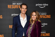 """Andy Murray and Kim Sears attend the """"Andy Murray: Resurfacing"""" world premiere at the Curzon Bloomsbury on November 25, 2019 in London, England."""