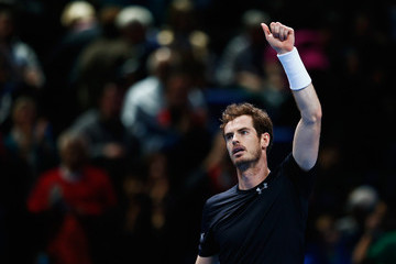 Andy Murray Barclays ATP World Tour Finals - Day Two