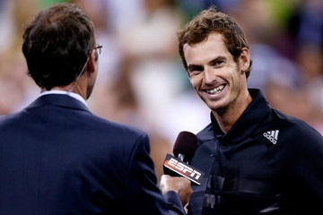 Andy Murray US Open: Day 4