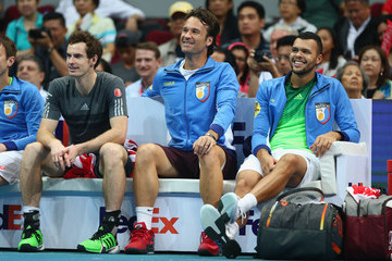 Andy Murray Coca-Cola International Premier Tennis League - Philippines: Day Two