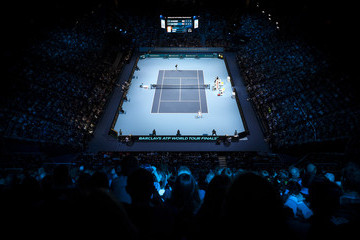 Andy Murray Barclays ATP World Tour Finals - Day One