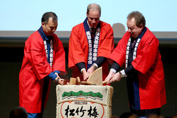 Andy Palmer Prince William Visits Japan: Day 2