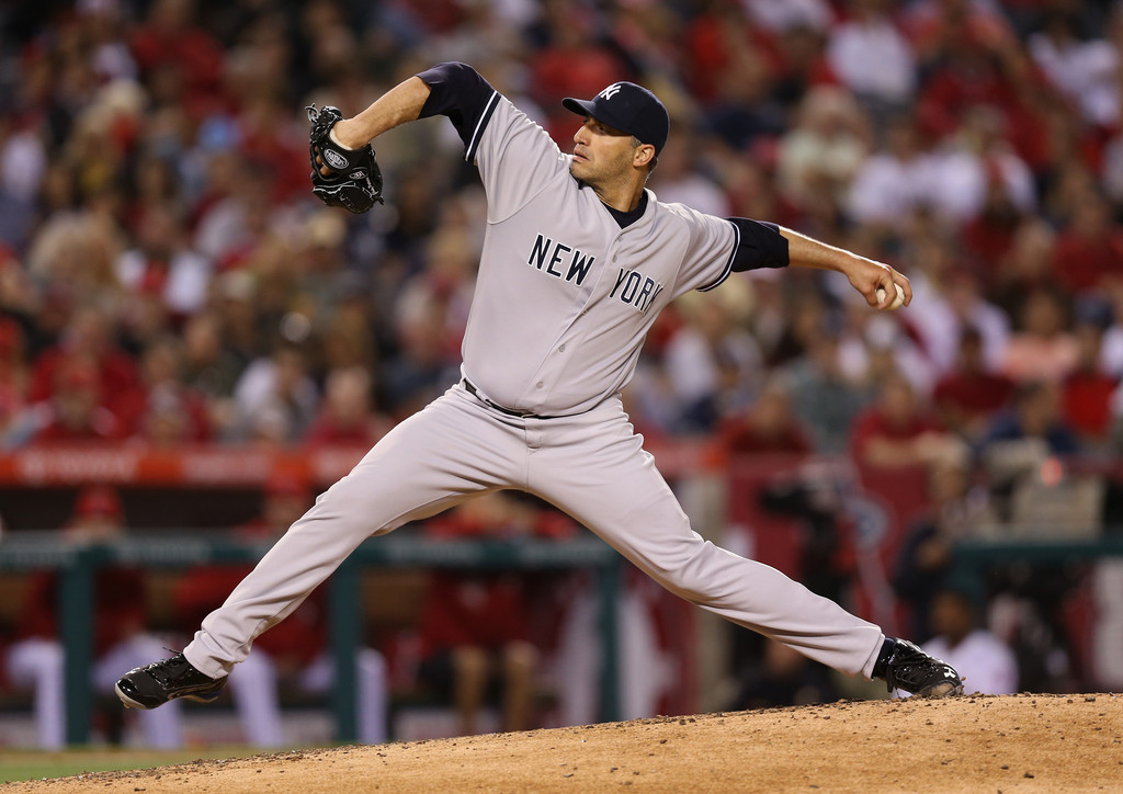 Andy Pettitte - New York Yankees v Los Angeles Angels of Anaheim