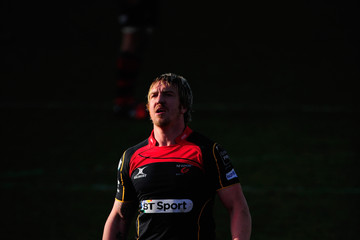 Andy Powell Newport Gwent Dragons v Exeter Chiefs - LV= Cup