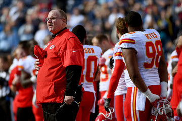 Andy Reid Kansas City Chiefs v San Diego Chargers