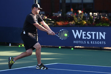 Andy Roddick Andy Roddick Tennis Clinic for Starwood Preferred Guest at 2014 U.S. Open