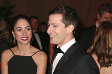 Andy Samberg The Weinstein Company and Netflix Golden Globe Party- Inside